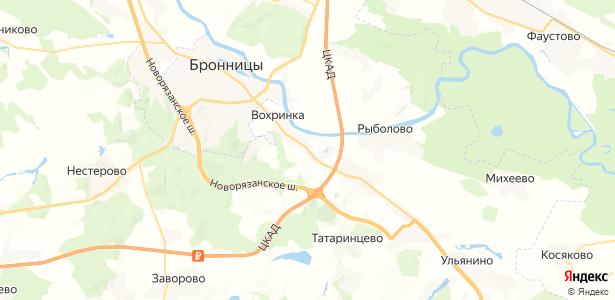 Боршева на карте