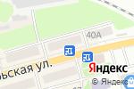 Схема проезда до компании Киоск по продаже хлебобулочных изделий в Донском