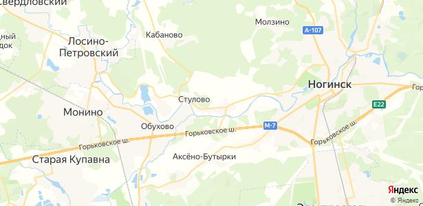 Ельня на карте