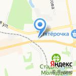 Белорусская лавка на карте Донского