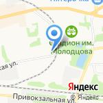 ЖЭУ №3 на карте Донского