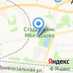 Межрайонный регистрационно-экзаменационный отдел на карте Донского