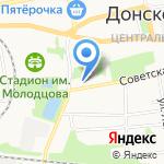 Отдел вневедомственной охраны по г. Донской на карте Донского