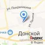 Новомосковские вентиляционные системы на карте Донского