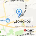 Кварт на карте Донского