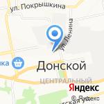 Многофункциональный центр предоставления государственных и муниципальных услуг на карте Донского