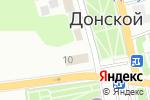 Схема проезда до компании Vela в Донском