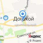 Центральная на карте Донского