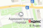 Схема проезда до компании Администрация муниципального образования г. Донской в Донском