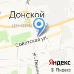 Социально-реабилитационный центр для несовершеннолетних на карте Донского