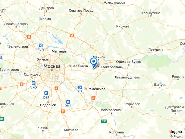 СНТ Лесная Дача на карте