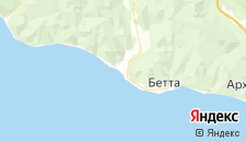 Отели города Криница на карте