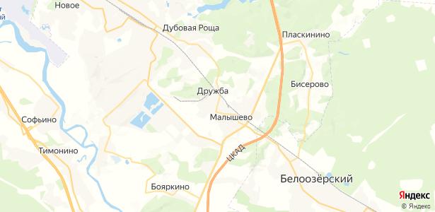Кузнецово на карте
