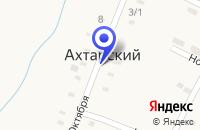 Схема проезда до компании ПТФ ДРУЖБА в Приморско-Ахтарске