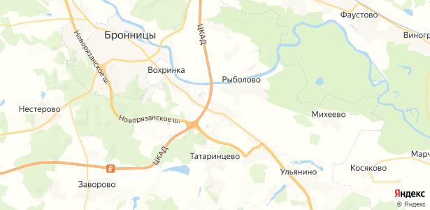 Морозово на карте