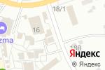 Схема проезда до компании Габбро в Донском