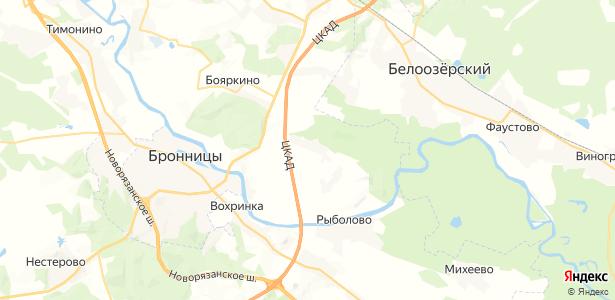 Торопово на карте