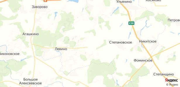 Семеновское на карте