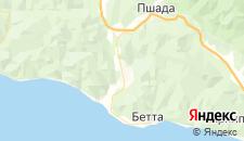 Гостиницы города Береговое на карте