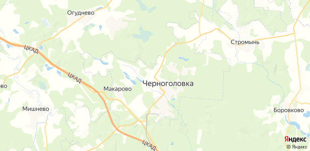 Якимово на карте