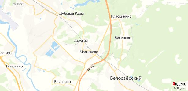 станции Бронницы на карте
