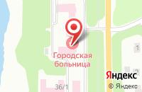 Схема проезда до компании Донская городская больница №1 в Донском