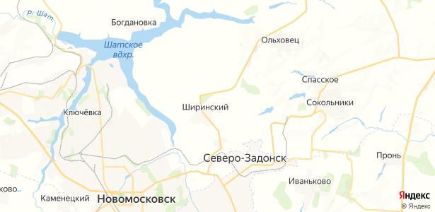 Ширинский на карте