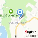 Центр социального обслуживания населения № 1 на карте Донского