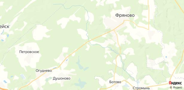 Мосальское на карте