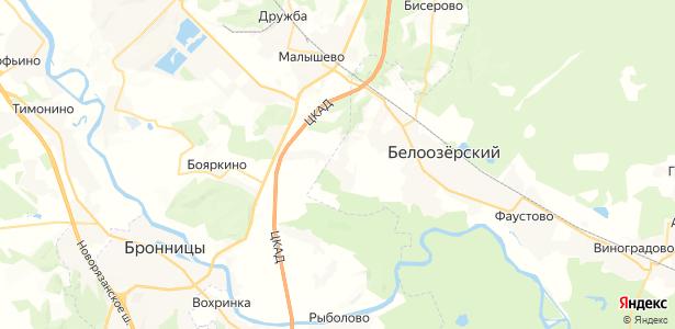 Ворщиково на карте