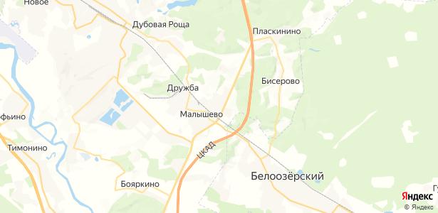 Юрово на карте