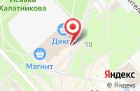 Схема проезда до компании Магнит Косметик в Черноголовке