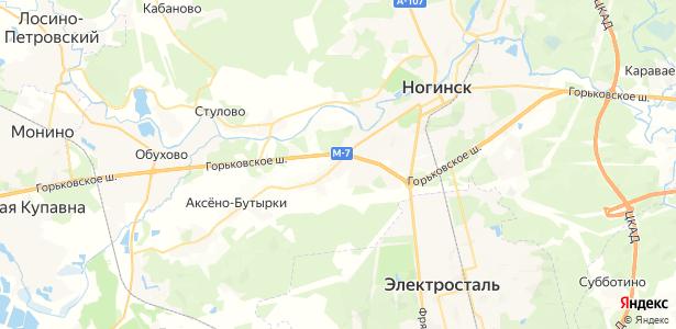 Новое Подвязново на карте