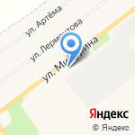 Поликлиника №1 на карте Донского