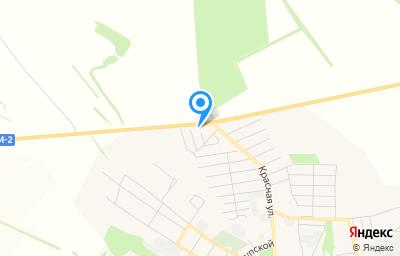 Местоположение на карте пункта техосмотра по адресу Белгородская обл, г Бирюч, ул Красная, д 27
