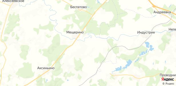 Федоровское на карте