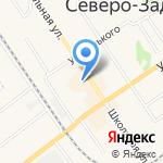 Городок на карте Донского
