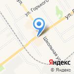 Киоск по продаже хлебобулочных изделий на карте Донского