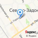 Магазин по продаже мяса на карте Донского