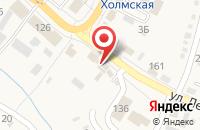 Схема проезда до компании ЗОЛОТАЯ АРКА в Холмской