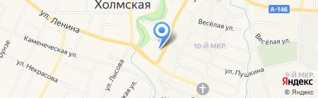 Банкомат Юго-Западный банк Сбербанка России на карте Холмской