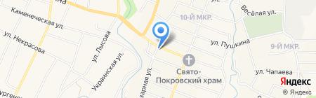 Ленмедснаб-Доктор W на карте Холмской