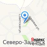 Средняя общеобразовательная школа №13 на карте Донского