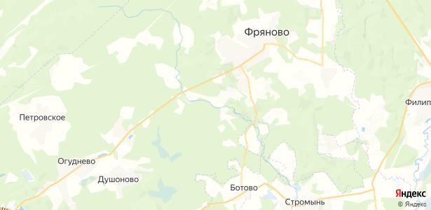 Горбуны на карте