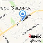 Магазин дисков на карте Донского