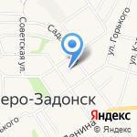 Донская городская больница №1 на карте Донского