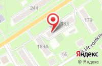 Схема проезда до компании Фаворит-Сервис в Ногинске