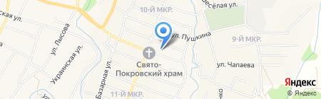 Средняя общеобразовательная школа №43 на карте Холмской