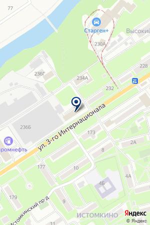 БАР ИСТОМКИНСКИЙ на карте Ногинска