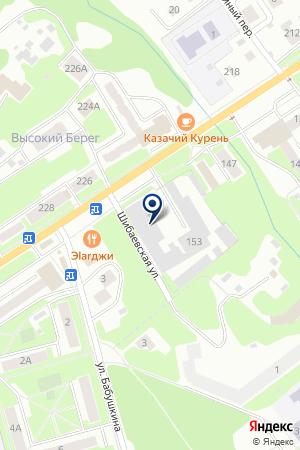 АВТОШКОЛА ФОРТУНА НОГИНСК на карте Ногинска
